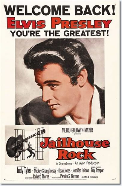 Jailhouse Rock : MGM 1957 : Elvis Movies : Elvis Australia Official Elvis Presley Fan Club :