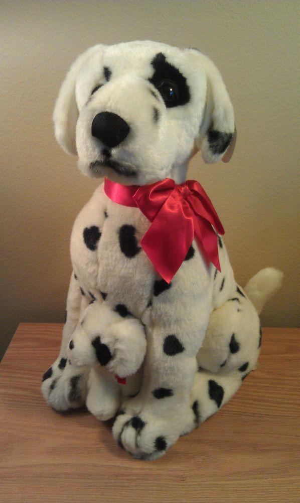 "Dalmatians Dog Mother & Puppy Large Stuffed Animal Chosun Int'l 18""T  #ChosunIntl"