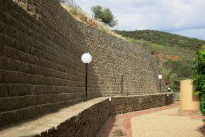 German Embassy, erosion control