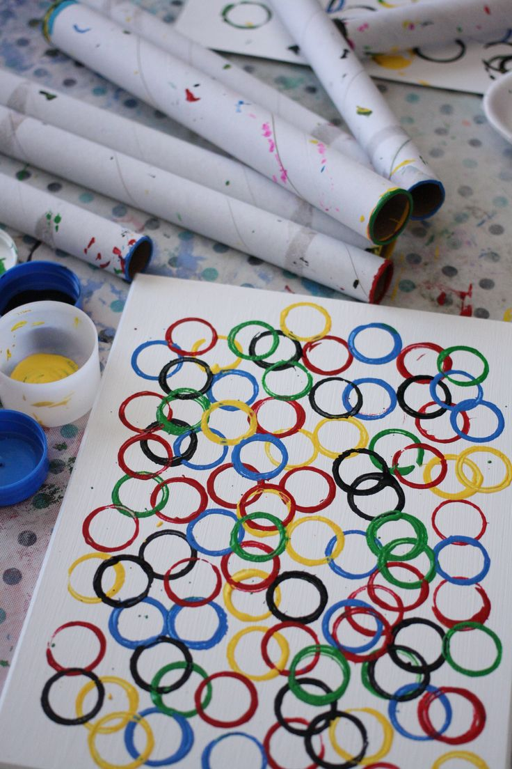 Best 25 circle crafts ideas on pinterest easy kids Fun painting ideas for toddlers