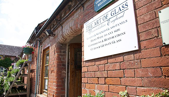 Hatton Country World The Art of Glass | Stained Glass Windows | Hatton Shopping Village