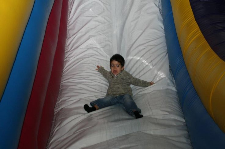 """""""My nephew--the priceless look of complete fear."""""""