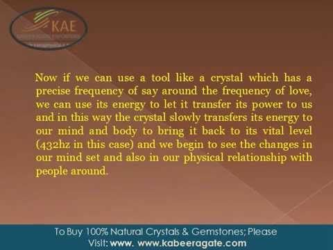 What is #crystal healing?