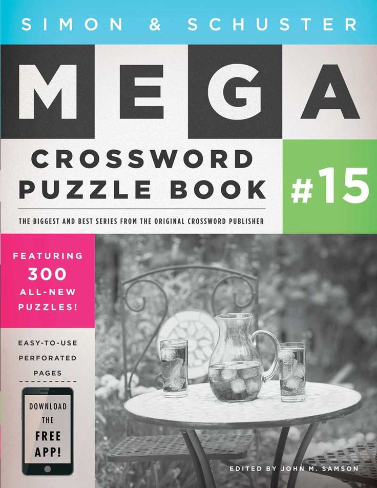Review Mega Crossword Puzzle Book #15 - San Diego Book Review -   sc 1 st  Pinterest & 25 best classy crosswords! images on Pinterest | Crossword ...