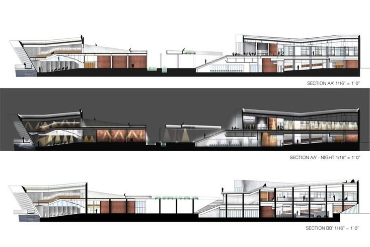 Section interior design google plan for Design hotel zwolle