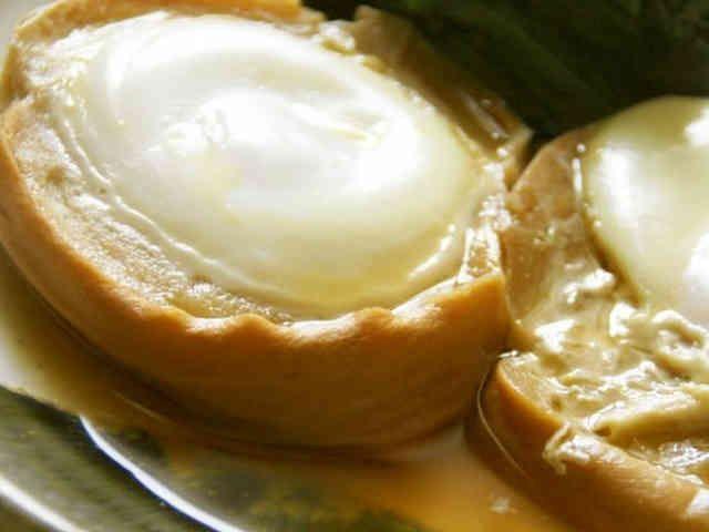 大切な祖母の味☆車麩の落とし卵煮の画像
