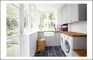 The most beautiful laundry (well, whole house in truth!)