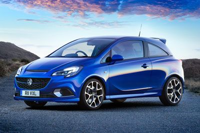 Vauxhall Corsa VXR The 1.6-litre 205 PS turbocharged engine enables the Corsa VXR to accelerate from 0-60mph in 6.5 seconds and continue to a top speed of 143 mph.