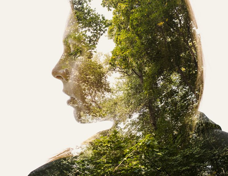 Double Exposure Photography Project - We Are Nature