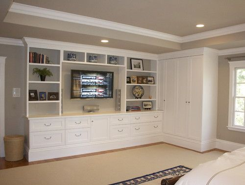 Built In Furniture Ideas: Built Ins Master Bedroom - Google Search