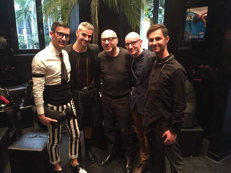 È stato un vero piacere incontrare @dolcedomenico al martini bar ❤️
