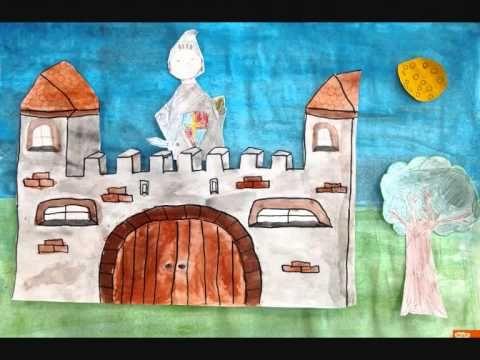 Stopmotionfilmpje ridders in het vijfde leerjaar - YouTube