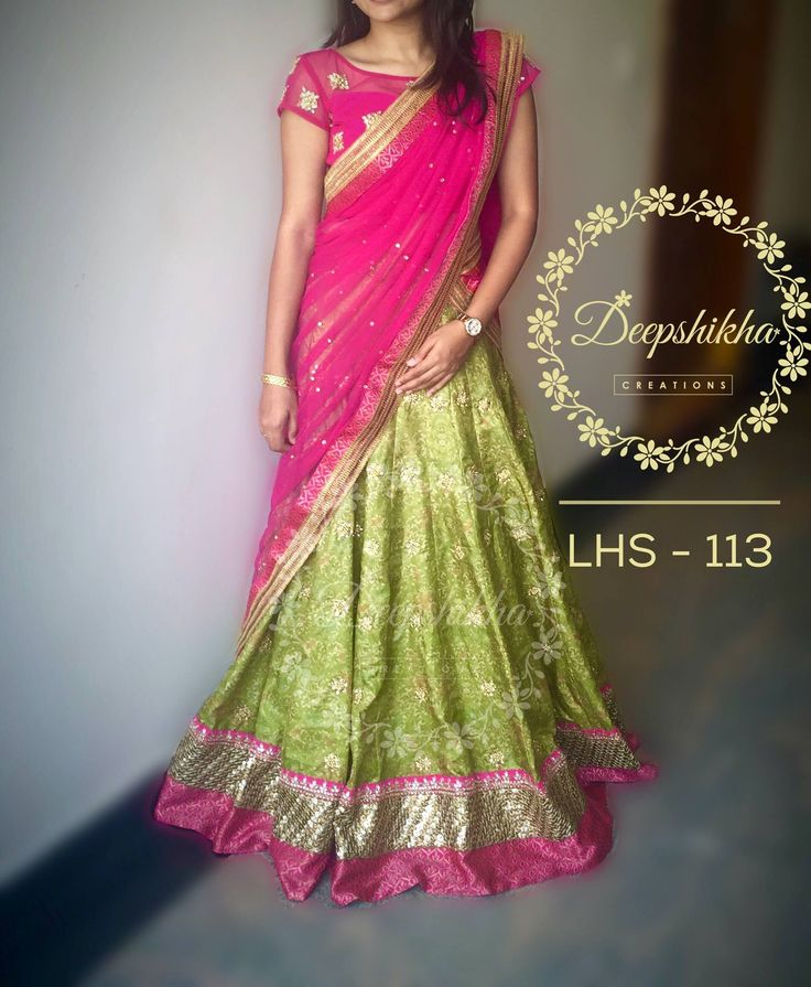LHS 113 For queries kindly inbox or Email - deepshikhacreations@gmail.com Whatsapp/Call - 9059683293 07 April 2016