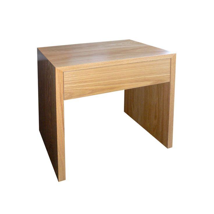 Oak Bedside Table by Anton Gerner - bespoke contemporary furniture melbourne