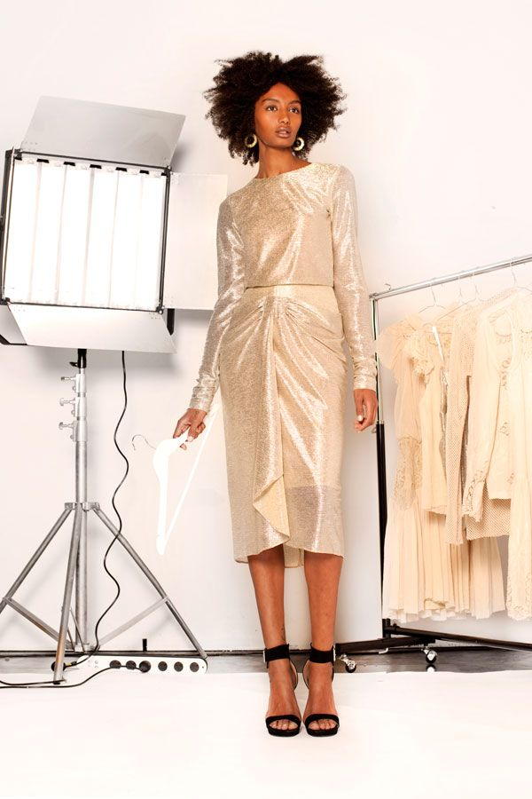 Lisa Brown Designs Winter Collection 2015.  Juliana Metallic Long Sleeved Short Dress.  Follow us on FB and IG http://www.facebook.com.au/bylisabrown http://www.instagram.com/lisabrowndesigns and online at http://www.lisa-brown.com.au   #lisabrowndesigns #fashion #style #winter #styled #beautiful #australia #model