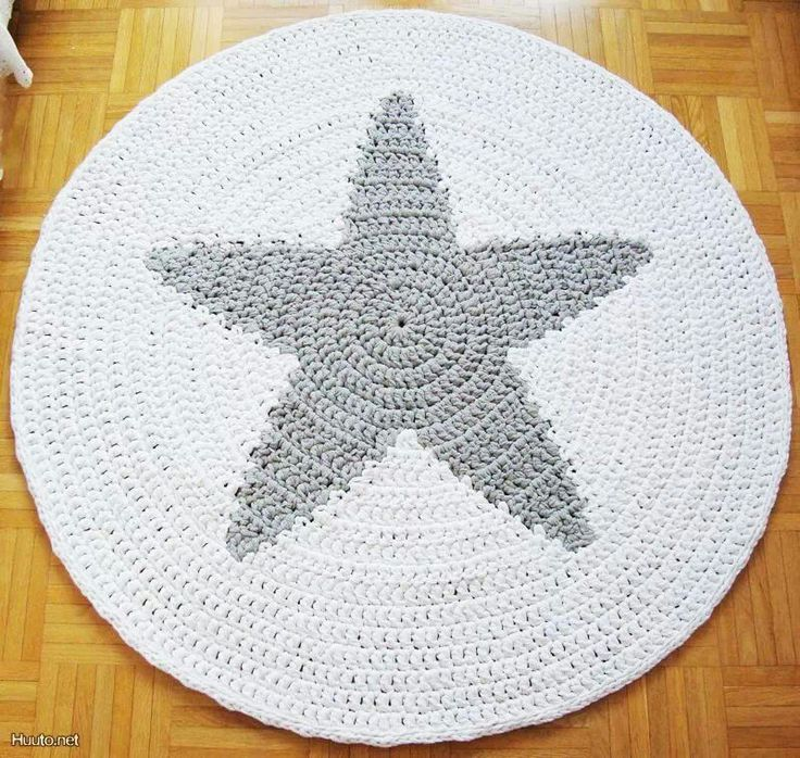 Crochet A Rag Rug Instructions: 210 Best Images About DIY/Rag Rugs, Crocheted And Weaved