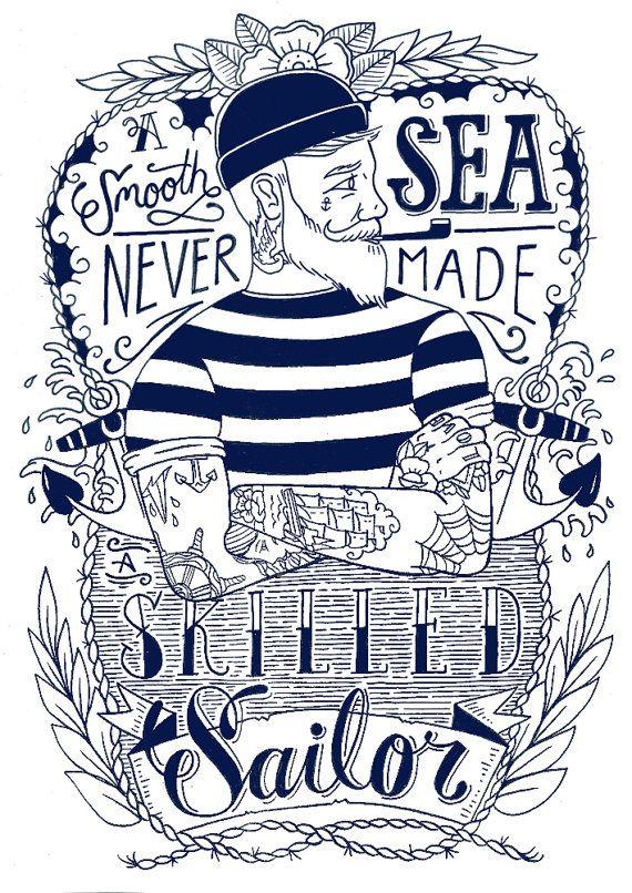 ⚓ #Lobster #anchor #navy #sailor #marinheiro #lagosta #âncora  ⚓ #poster…