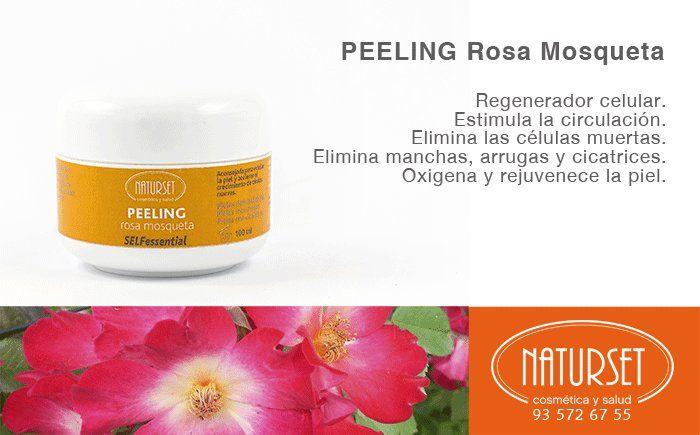 Peeling Rosa Mosqueta de NATURSET
