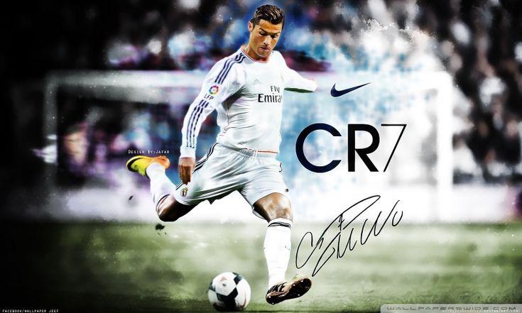 Cristiano Ronaldo Real Madrid 2014 HD desktop wallpaper