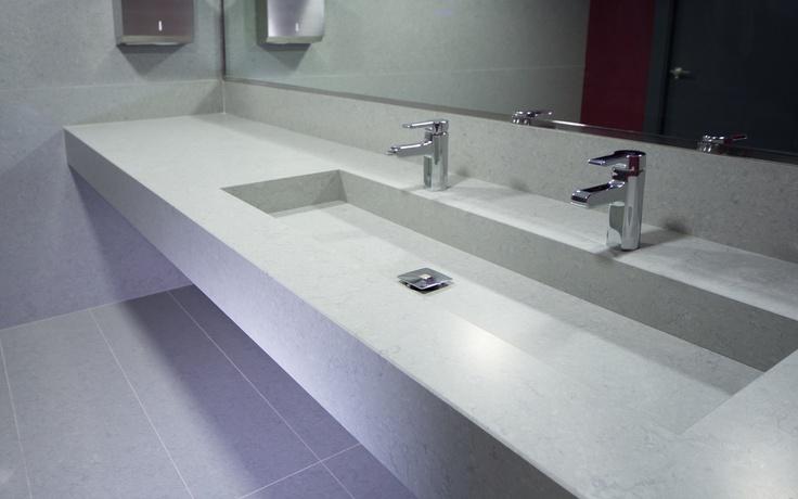 65 best thin ceramic worktop sink vanities images on for Silestone sink