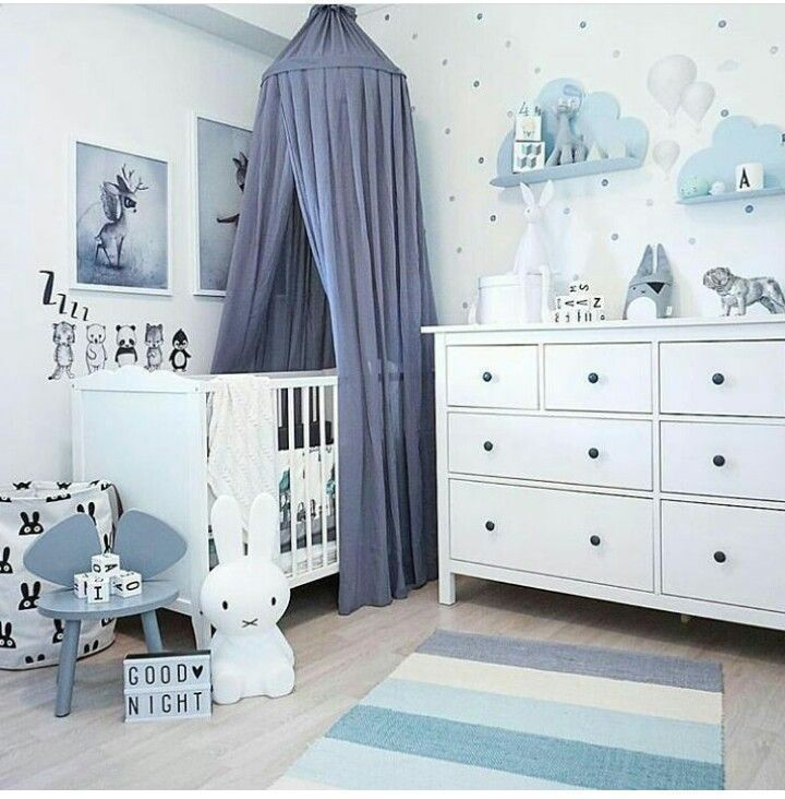 #Baby Room #Nursery #Blue #Baby – #Baby #Baby Room  – Babyzimmer Madchen