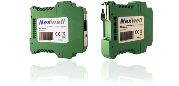 NXW395 – LAN CARD - LAN card enables communication with the Nexo system via Ethernet. Prepared software for PCs and mobile devices allows you to manage system resources from anywhere in the world. In order to ensure the confidentiality of data exchanged with system, the card was equipped with a possibility to encrypt the connection. The same PC software also allows you to communicate with the system using the command card connected via USB or serial port.