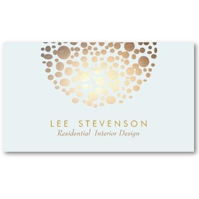 Interior Designer Lighting Business Card