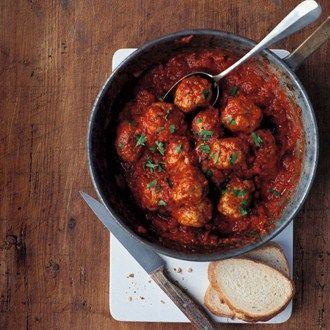 Italian Meatballs Recipe Ideas - Healthy & Easy Recipes. Hand Pinned by Feron Clark Style