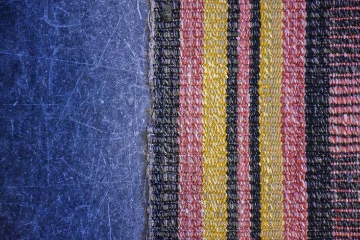 Swedish vintage rag rug 0853 - Rugs of Sweden