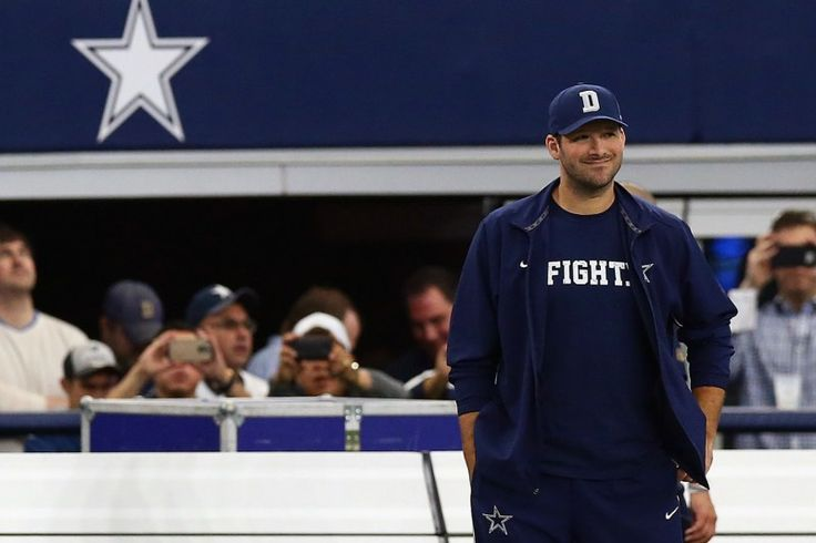 Tony Romo Returns to Practice Sunday's Availability Changed to Coaches Decision