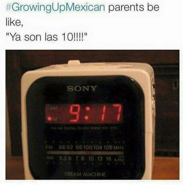 That's so annoying! Or when they wake you up at 4:30 telling you that is 5:30 and You are going to be late for School