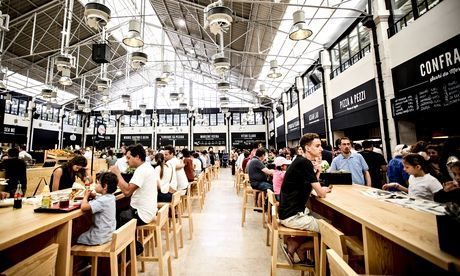 Restaurants in Portugal: readers' travel tips - via The Guardian 11.06.2015 | From the juiciest pork sandwich in Porto to rustic delicacies and fantastic places to eat freshly grilled fish, Guardian Travel readers reveal where to savour the best of Portugal's cuisine... #portugal #travel #foodie Photo: Time Out Mercado da Ribeira, Cais do Sodré, Lisboa