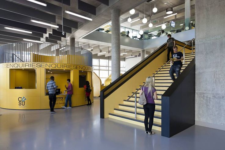 Coventry University Hub by Hawkins\Brown in Coventry, United Kingdom