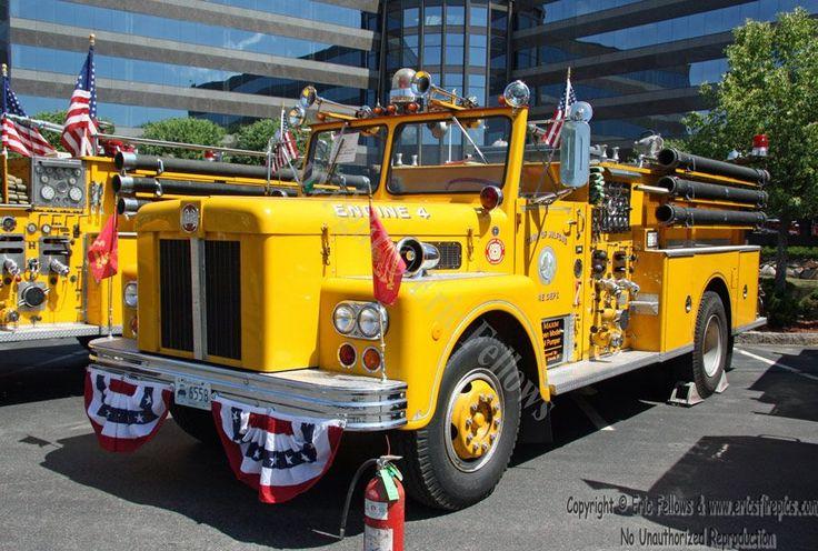 Milford, MA, Former Engine 4, a 1971 Maxim. http//www