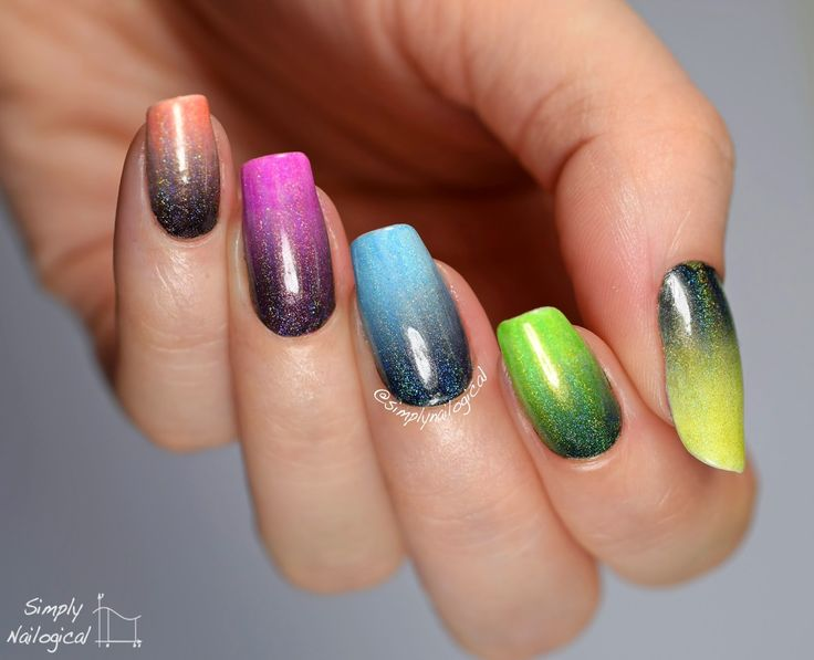 Tip With Jelly Nail Polish Halloween Designs
