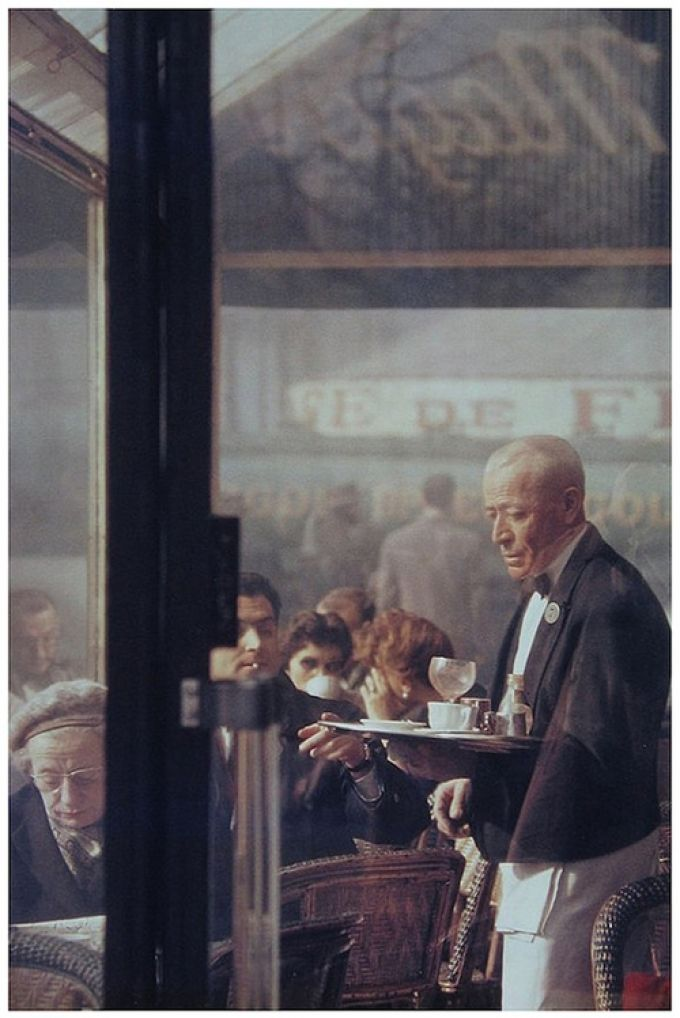 Saul Leiter in Paris, 1959.