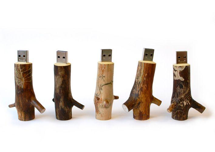 Wooden USB Stick  29-31-31-39e pour 1-2-4-8 giga  ooms.nl