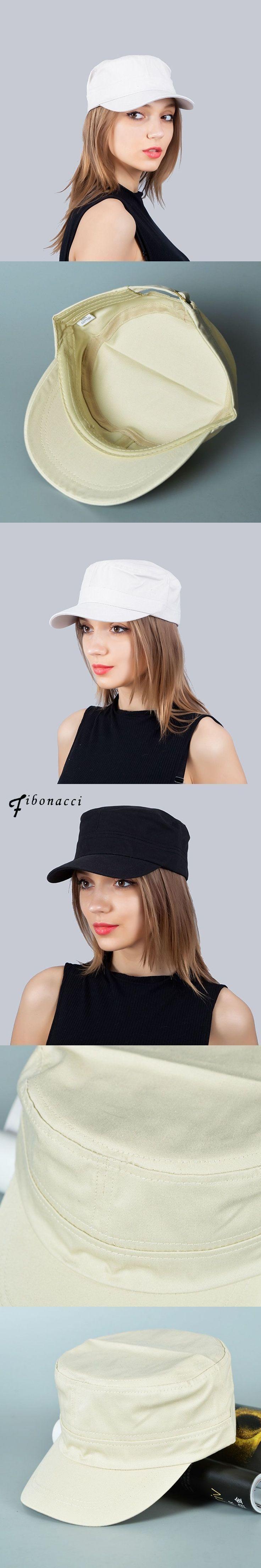 Army Military Cap Men Women Classic Solid Color Cotton Unisex Military Trucker Hats For Men Flat Top Caps #MilitaryHatsForWomen
