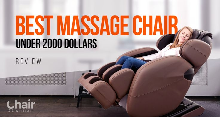 An in-depth review of the 5 best massage chairs under $2000