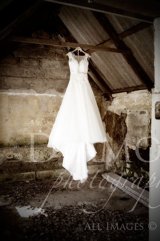 A dress in a cottage!