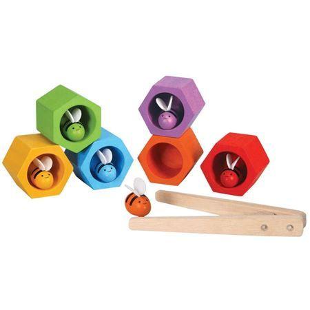 Beehives | Plan Toys | Cubes & Blocks | Mulberry Bush