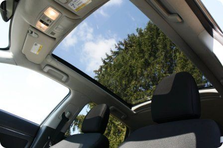 Panoramic glass sensation mitsubishi outlander sport
