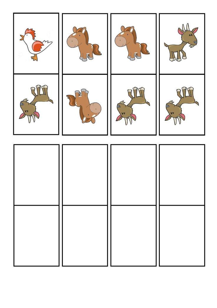çiftlik hayvanları domino oyunu (4) | Evimin Altın Topu