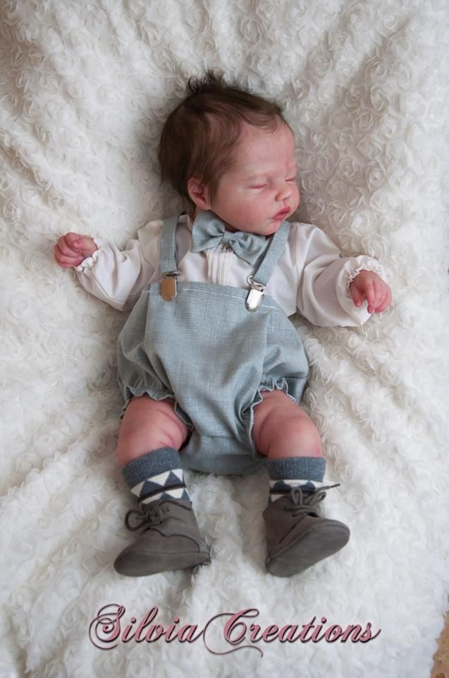 Robin Doll Kit by Nikki Johnston - Pre-Orders open at 7pm 9th October - Online Store - City of Reborn Angels Supplier of Reborn Doll Kits and Supplies