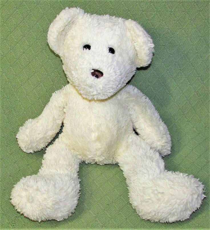 """SEARS Plush TEDDY BEAR Cream 18"""" Stuffed Animal SOFT Cuddly Floppy Lovie Toy  #Sears"""