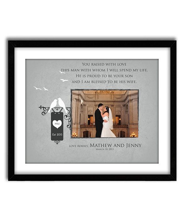 Wedding Gift For Mother In Law: Wedding Gift For Mother In Law, Father In Law, Thank You