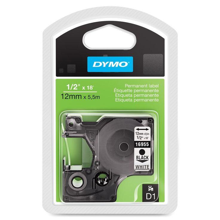 Dymo Permanent Adhesive D1 Tape