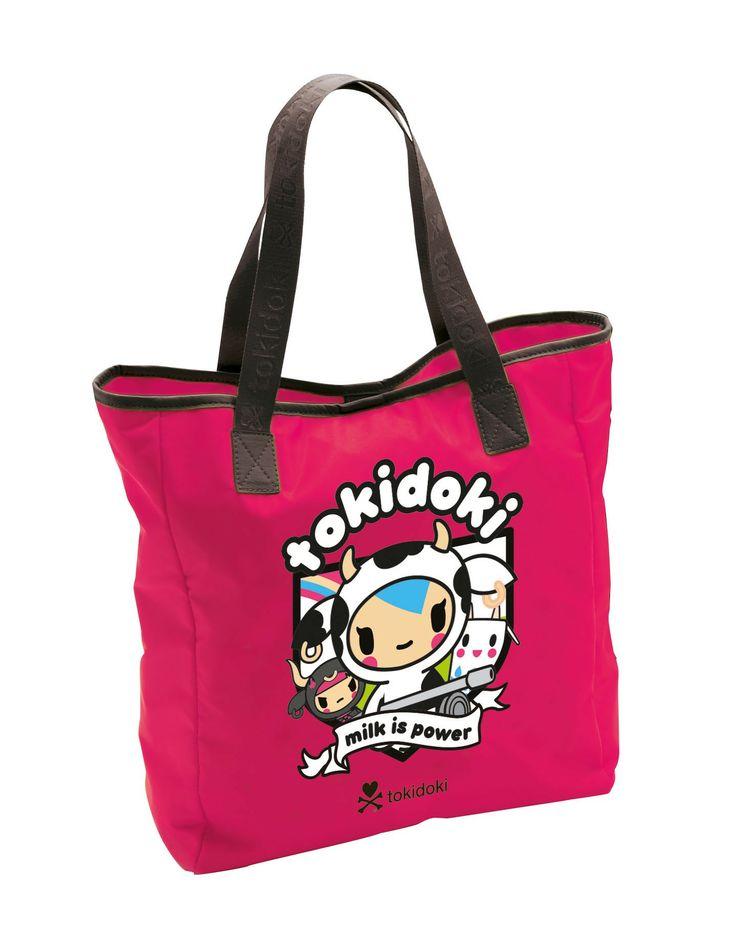 shopping bag Tokidoki fucsia
