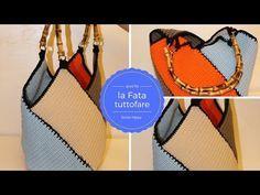 Questa borsa estiva è veramente utile perla primavera estate, proprio adatta per le persone principiantiche cominciano a progettare borse: viene lavorata
