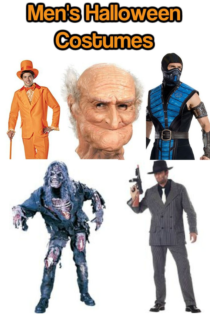 Men's Halloween costumes are very popular now, since Halloween is not for kids…